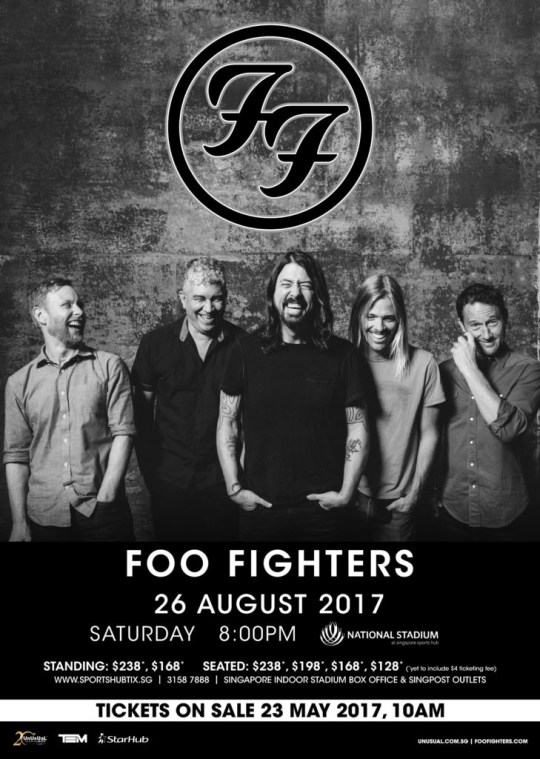FooFighters_AnnouncementPoster