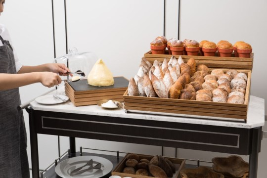 Tablescape - Bread Trolley