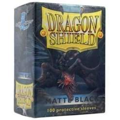 Image Dragon Shield Matte Sleeves Black Matte (100)