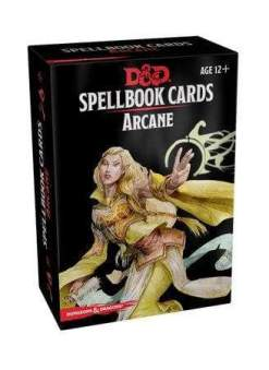 Image Dungeons & Dragons Spellbook Cards Arcane