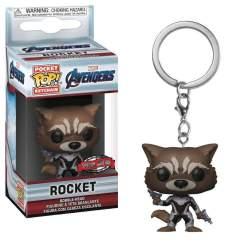 Image Avengers 4: Endgame - Rocket US Exclusive Pocket Pop! Keychain [RS]