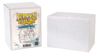 Image Dragon Shield Deck Strong Box White