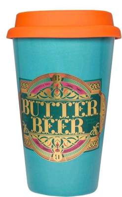 Image Fantastic Beasts - Butterbeer Gold Electroplated Keep Cup