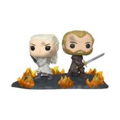 Image Game of Thrones - Daenerys & Jorah Back to Back Movie Moment Pop! Vinyl