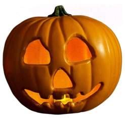 Image Halloween 2 - Light up Pumpkin Prop