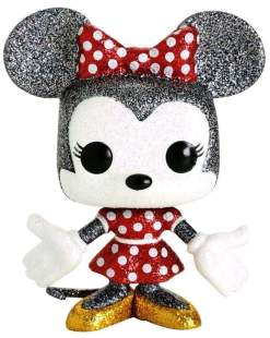 Image Mickey Mouse - Minnie Mouse Diamond Glitter US Exclusive Pop! Vinyl [RS]