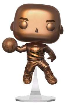 Image NBA - Michael Jordan Bronzed US Exclusive Pop! Vinyl