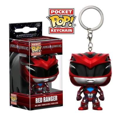 Image Power Rangers Movie - Red Ranger Pop! Keychain