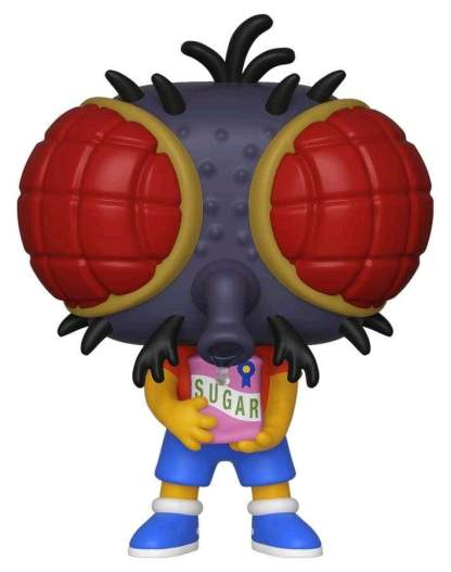 Image Simpsons - Bart Fly Pop! Vinyl