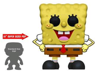 "Image Spongebob SquarePants - Spongebob 10"" US Exclusive Pop! Vinyl [RS]"