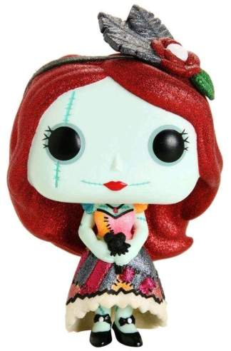 Image The Nightmare Before Christmas - Dapper Sally Diamond Glitter US Exclusive Pop! Vinyl Figure
