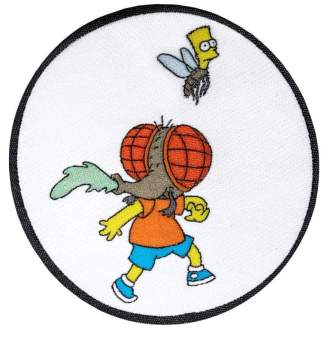 Image The Simpsons - Bart Fly Patch
