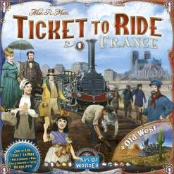 Image Ticket to Ride - France & Old West - Ex-Display Copy