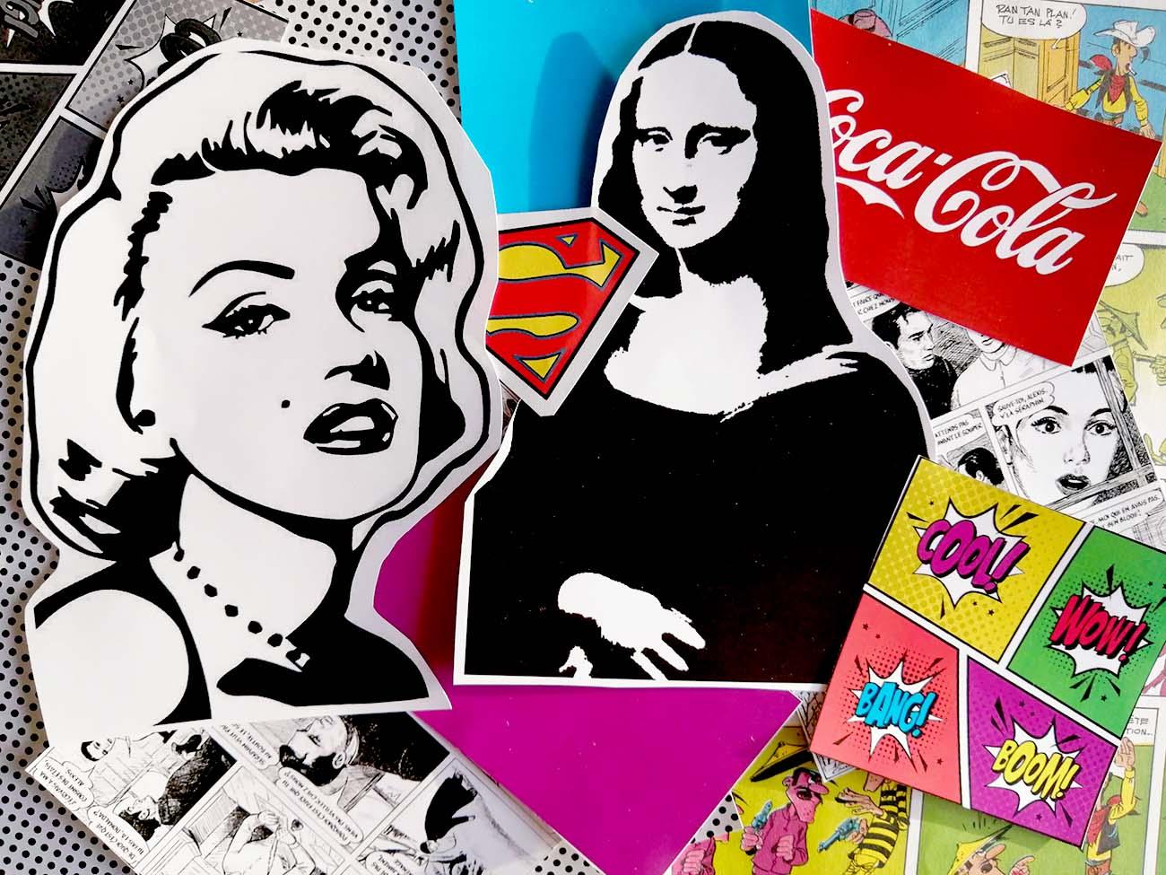 Tuto Collage Pop Art Et Street Art