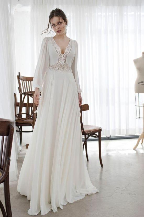 boho bridal dress