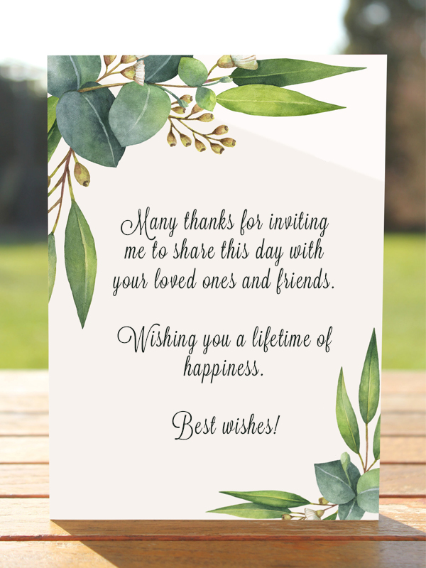 Islamic Wedding Wishes : islamic, wedding, wishes, Wedding, Wishes:, Write, Card, Poptop, Event, Planning, Guide
