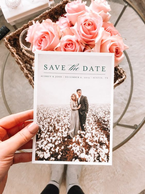 save the date in Wedding Checklist process