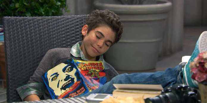 Luke Ross in Disney original series, Jessie (2011-2014)   Sausage Roll