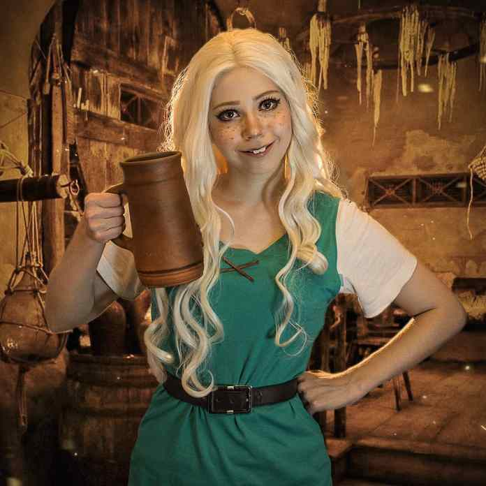 @nika_enot - Princess Bean cosplay