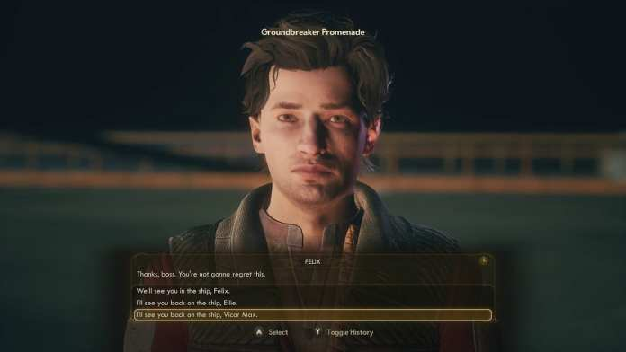 Felix in The Outer Worlds