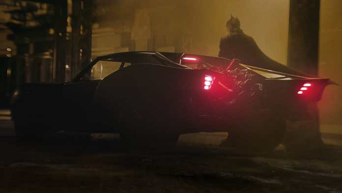 The new Batmobile has been revealed and it is exactly what you'd expect