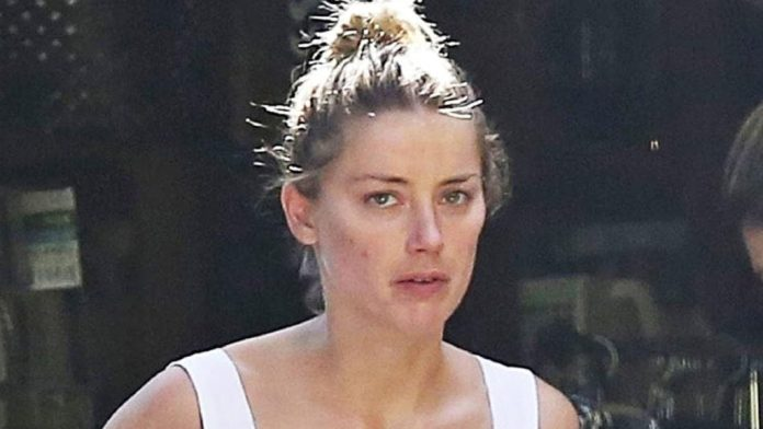 Amber Heard no make-up