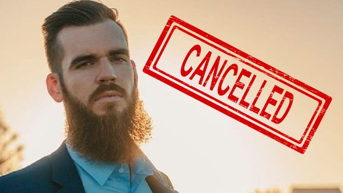 Australian comedian Isaac Butterfield cancelled for being 'too offensive'