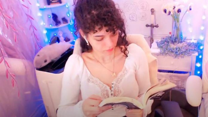 YouTube banned Brittany Venti for reading a book on livestream