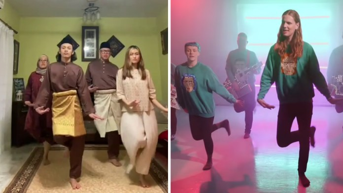 Icelandic Eurovision dance goes viral after Malaysian family performs it