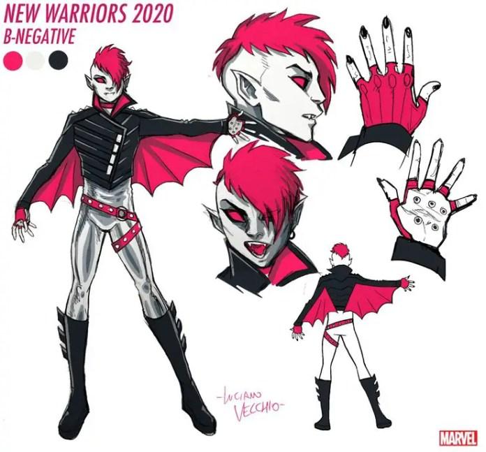 Otherkin superhero who enjoys blood play