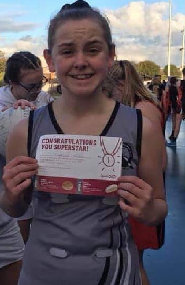 Crystal-lee Wightley wins sports award