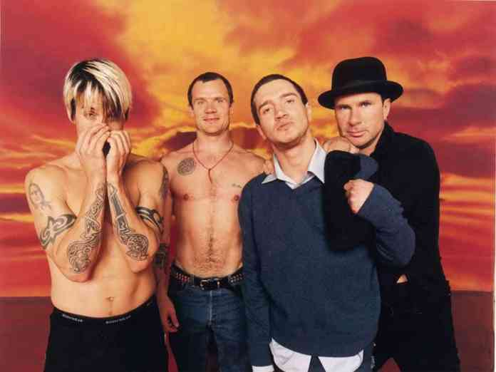 RHCP banned Californication