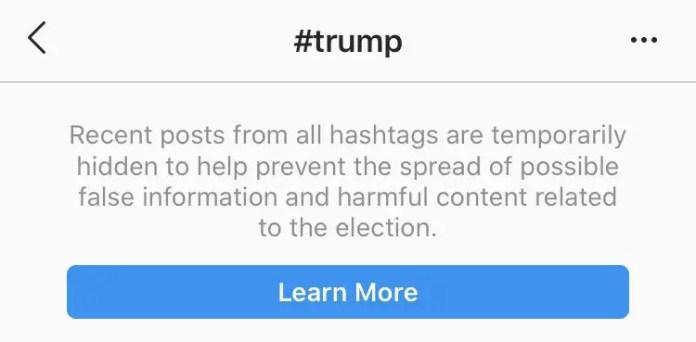#trump blocked
