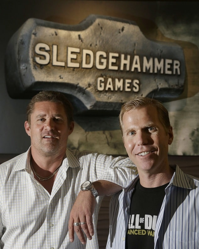 Former SledgeHemmer Co-Founders Michael Condrey and Glen Schofield | Sausage Roll