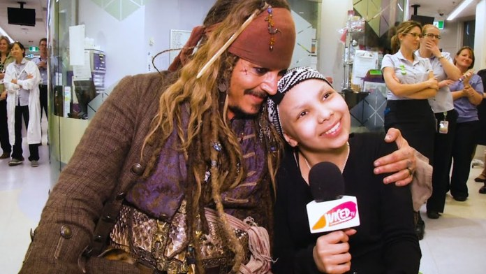 Disney want Johnny Depp back for Pirates of the Caribbean