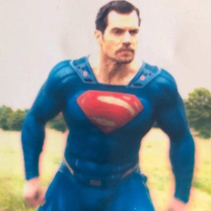 Superman moustache