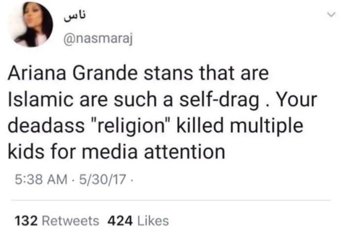 Lil Nas X NasMaraj islamaphobe