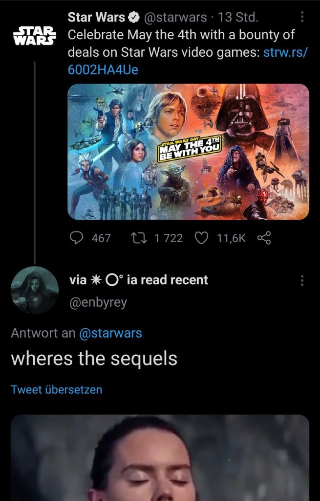 Star Wars May the 4th video game Tweet