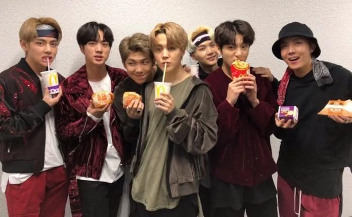 BTS Meal McDonald's