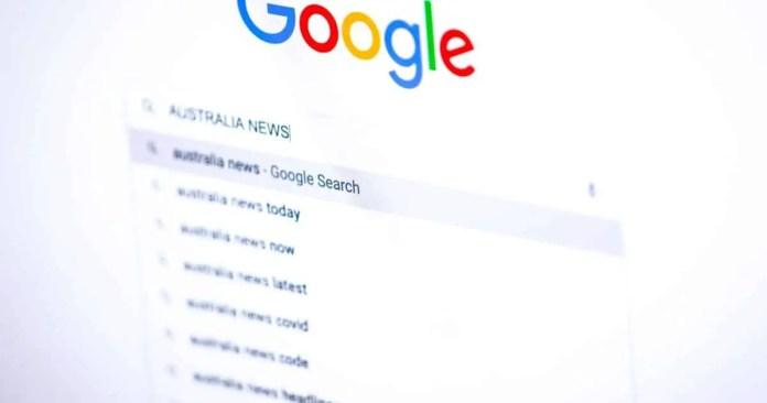 Google Search Australian news