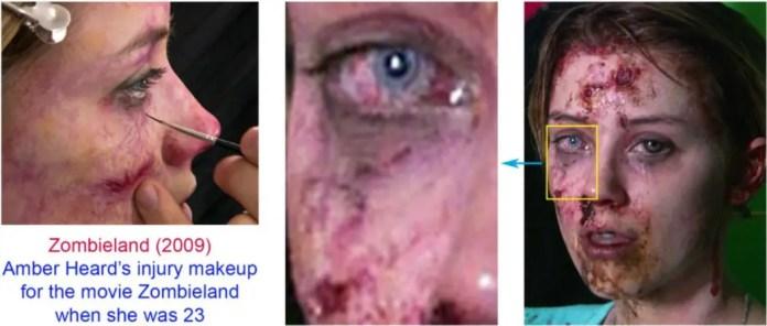AH Zombieland makeup
