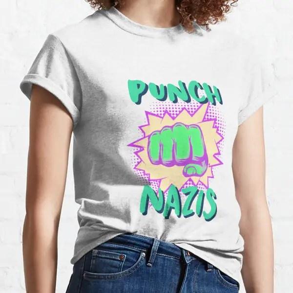 Punch Nazis shirt