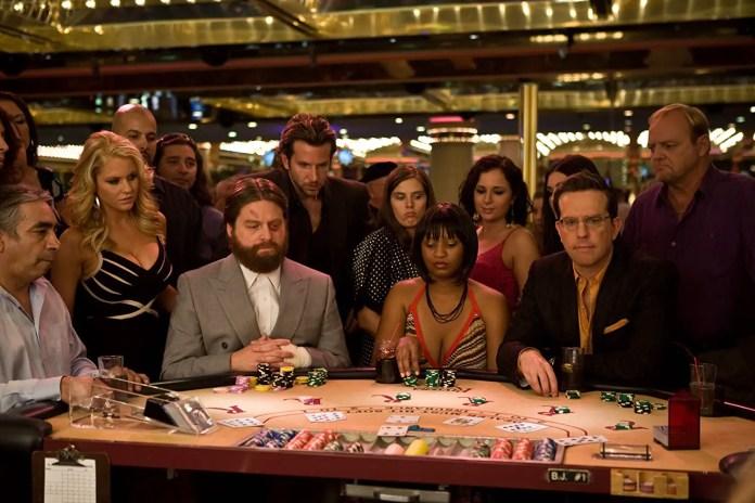 The Hangover casino scene