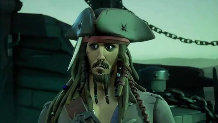 Johnny Depp Sea of Thieves