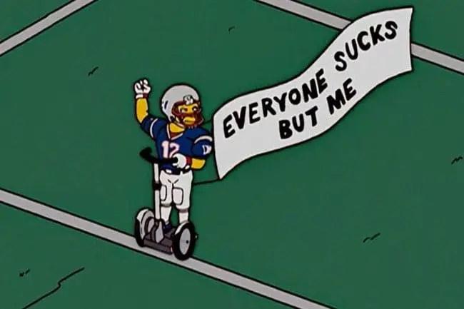 Joe Namath Simpsons