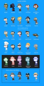 Ghost Story Island characters