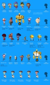 Game Show Island characters