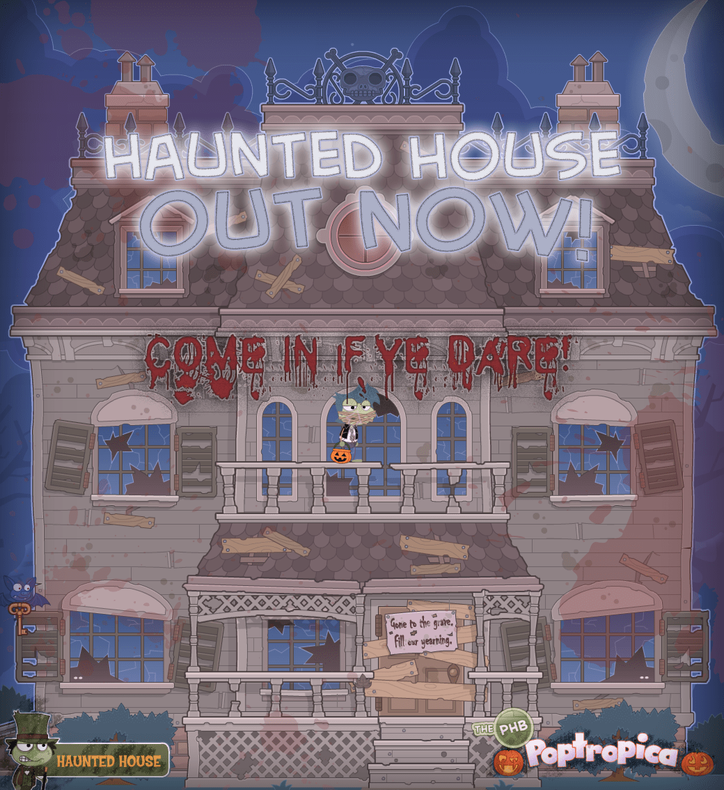 Haunted House Out Now!