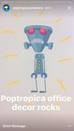 Poptropica office decor rocks