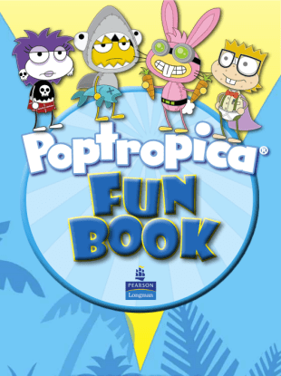 Poptropica Fun Book